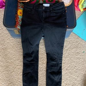 Ann Taylor Loft Black Jeans Size 25/0 Skinny pant